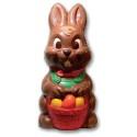 Comprar Molde de Policarbonato Conejo de Pascua con Cesta de Huevos Profesional