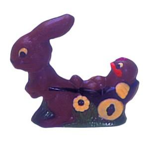 Molde de Policarbonato Conejo con Carretilla