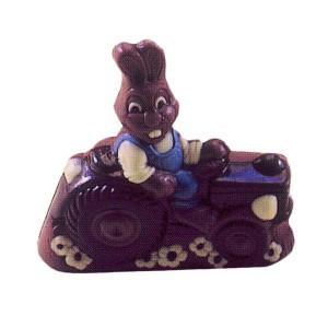 Molde de Policarbonato Conejo con Tractor