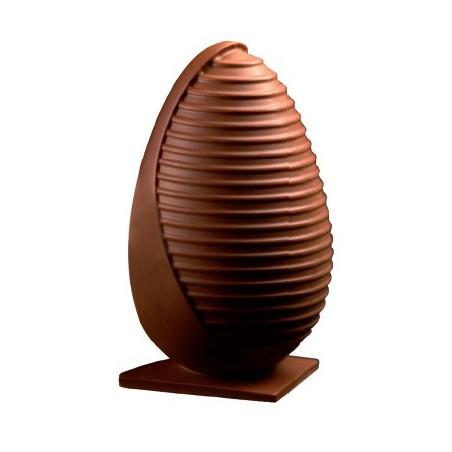 Comprar Kit Molde Termoperforado Huevo de Diseño Combinación de Rayas y Liso