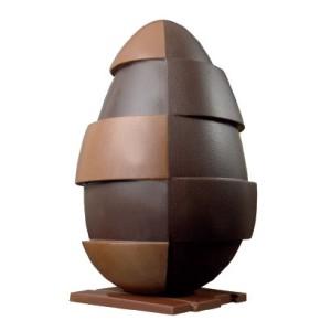 Comprar Kit Molde Termoperforado Huevo de Diseño Bicolor con Cuadros