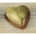 Comprar Molde para Bombones con Forma de Corazón Rayado Profesional