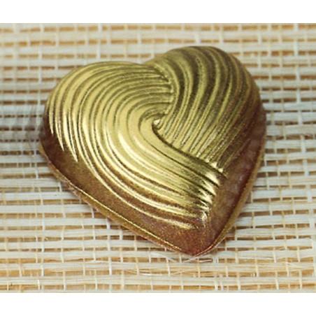 Comprar Molde para Bombones con Forma de Corazón Rayado
