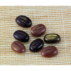 Molde para Bombones con Forma de Granos Pequeños de Café