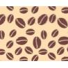 Choco-Transfer Granos de Café Color Cacao