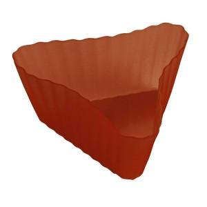 Set de 8 Moldes Triángulo de Silicona para Magdalenas
