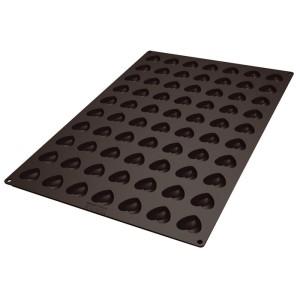 Molde de Silicona con Forma de 70 Mini Corazones