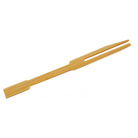 Comprar Pincho tenedor de bambú
