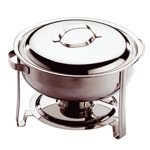 Comprar Chafer Chafing Dish Redondo con Tapa