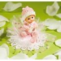 Comprar Adorno Rosa para Tarta de Bebé con Chupete Profesional