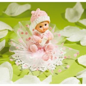 Comprar Adorno Rosa para Tarta de Bebé con Chupete