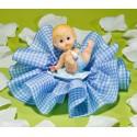 Comprar Regalo para Fiesta de Nacimiento del Bebé en Tul Azul Vichy Profesional