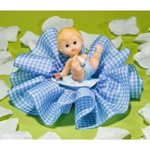 Comprar Regalo para Fiesta de Nacimiento del Bebé en Tul Azul Vichy