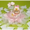 Comprar Muñeca de Recién Nacida en Burbuja con Tul Rosa Profesional