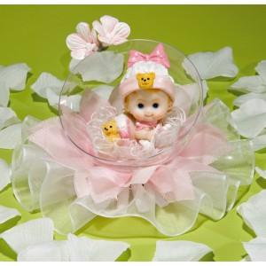 Comprar Muñeca de Recién Nacida en Burbuja con Tul Rosa