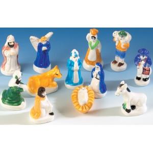 """Figuras para Roscón de Reyes """"Belén"""""""
