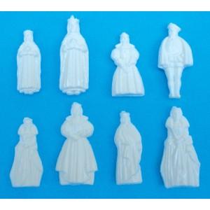 """Figuras para Roscones de Reyes """"Reales"""""""