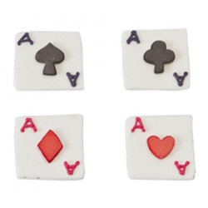 Comprar Figuras de Cartas de Poker para Cupcakes