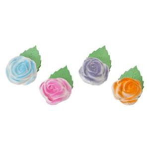 Comprar Rosas con Hojas de colores para decorar cupcakes