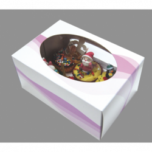Comprar Caja Para 6 Cupcakes