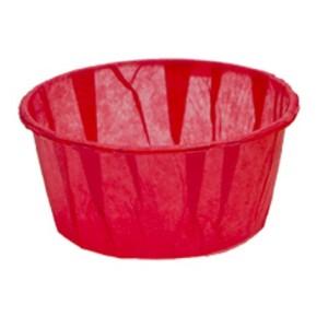 Comprar Cápsula Cupcake Translúcida Roja, paquete200