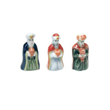 Comprar Figuras de Roscón de Reyes - Melchor, Gaspar y Baltasar