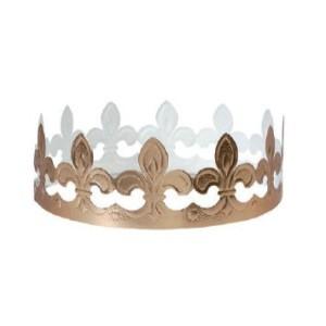 Coronas para Roscón de Reyes Flor de Lis