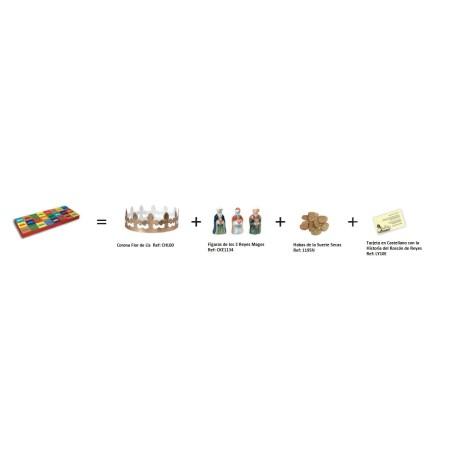 Comprar Set para el Roscón de Reyes 2