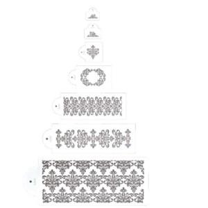 Set de Plantillas Decorativas para Cenefas
