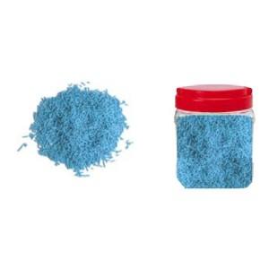 Bote con Fideos Azules de Azúcar 750 gr.