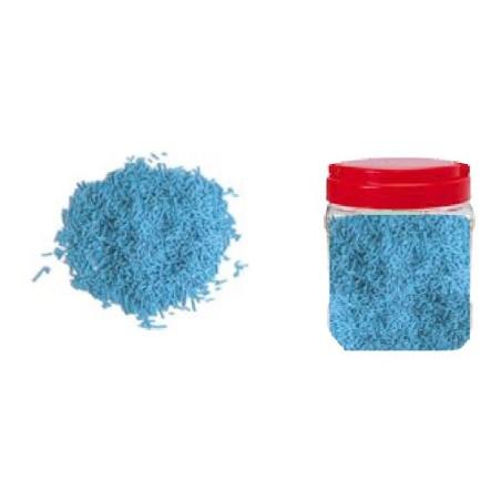 Comprar Bote con Fideos Azules de Azúcar 750 gr.