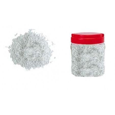 Comprar Bote con Fideos Blancos de Azúcar 750 gr.
