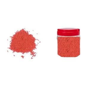 Bote con Fideos Rojos de Azúcar 750 gr.