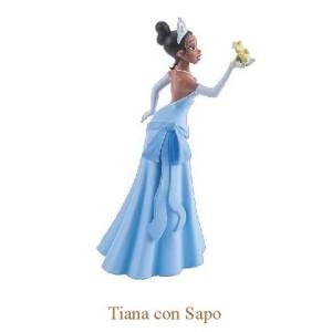 "Figura de ""Princesa Tiana + Sapo"" de Tiana y el Sapo"