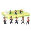 Comprar Kit de Decoración para Tartas de Figuras del Barça Profesional