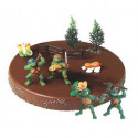 Comprar Kit de Decoración para Tartas de Figuras de Las Tortugas Ninjas Profesional