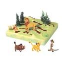 Comprar Kit de decoración para tartas de figuras del Rey León 3D Profesional