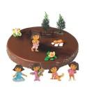 Comprar Kit de Decoración para Tartas de Figuras de Dora Exploradora Profesional