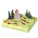 Comprar Kit de Decoración para Tartas de Princesa Ariel Profesional