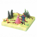 Comprar Kit de Decoración para Tartas de La Bella Durmiente y El Príncipe Profesional