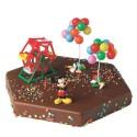 Comprar Kit de Decoración para Tartas de Figuras de Mickey Parque Profesional