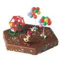 Comprar Kit de Decoración para Tartas de Figuras de Minnie Parque Profesional