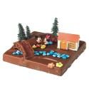 Comprar Kit de Decoración para Tartas de Figuras de Mickey y Minnie Campo Profesional