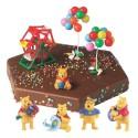 Comprar Kit de Decoración para Tartas de Figuras de Winnie The Pooh Profesional
