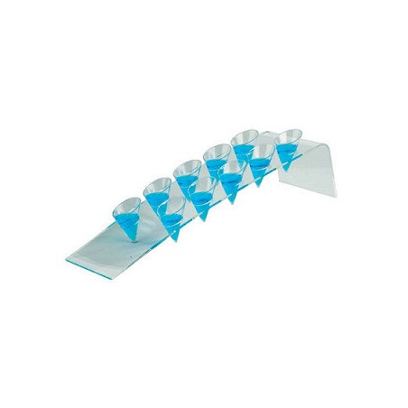 Comprar Soporte Inclinado Plexiglas para 10 Conos Grandes