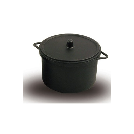 Comprar Cazuela Mediana Negra con Tapa para Microondas (20 ud.)