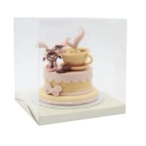 Comprar Caja para Tartas de Fondant Transparente de 50 cm