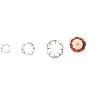 Comprar Conjunto de 3 Moldes Cortapastas con Forma de Flor