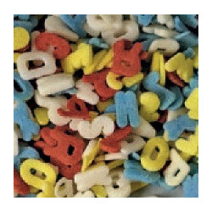 Azucarillos de Letras de Colores Modecor