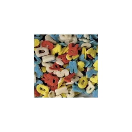 Comprar Azucarillos de Letras de Colores Modecor